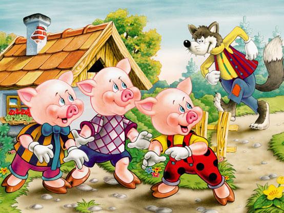 Sách nói: The Three Little Pigs - Ba chú heo con