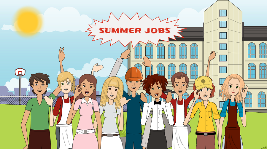 Listening elementary - Lesson 93: Summer Jobs
